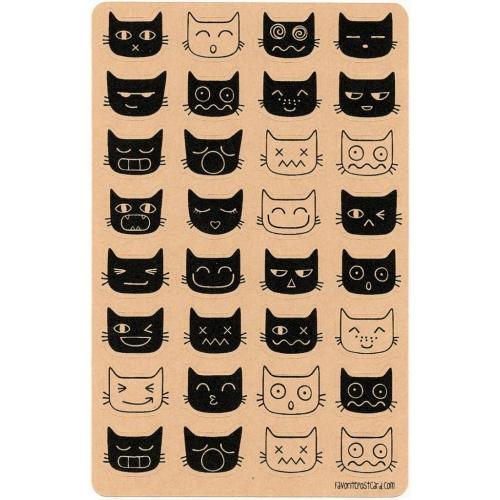 Sticker sheet | cats