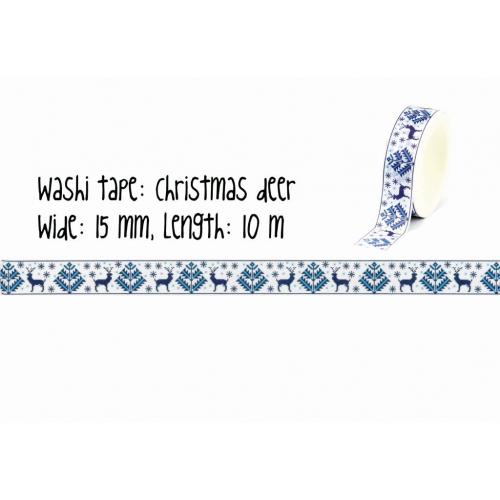 Washi tape | Christmas deer