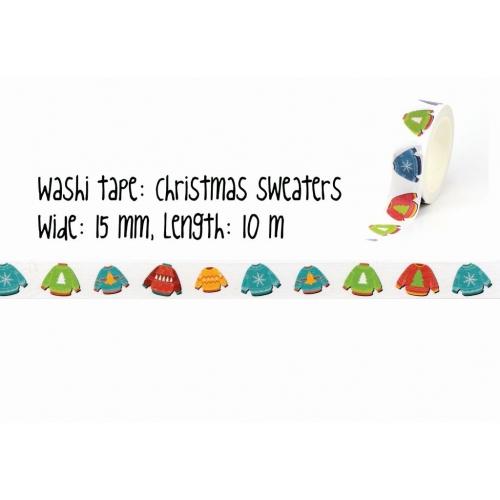 Washi tape | Christmas sweater