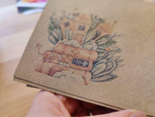 Envelope #022: cute houses