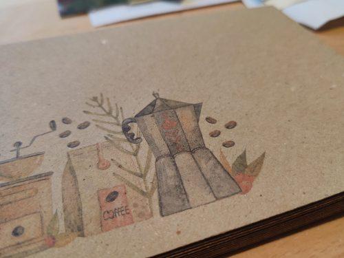 Envelope #023: coffee