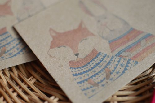 Envelope #021: cute animals