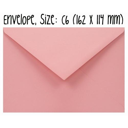 Envelope #005: pink