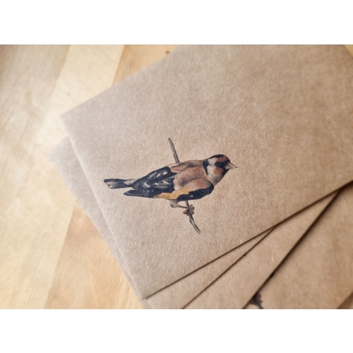 Envelope #009: bird