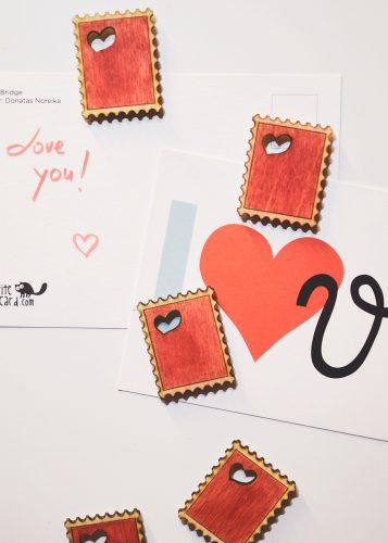 Fridge Magnet #2 - postage stamp shape