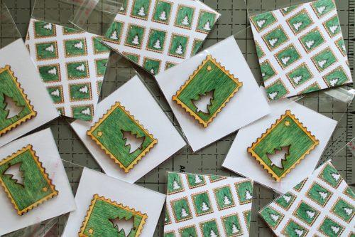 Fridge Magnet #3 - postage stamp shape