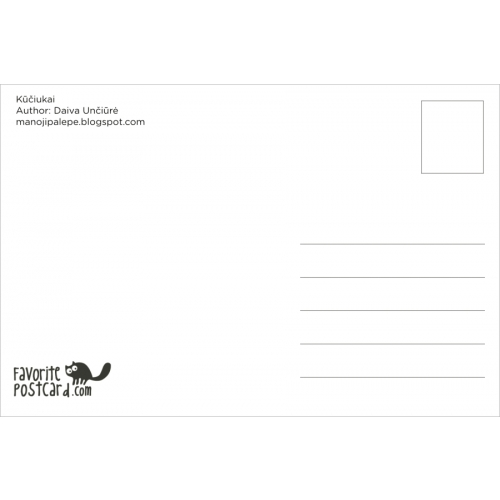 Postcard #736