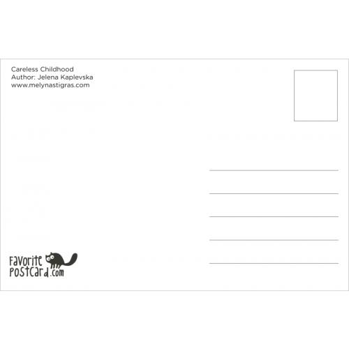 Postcard #696