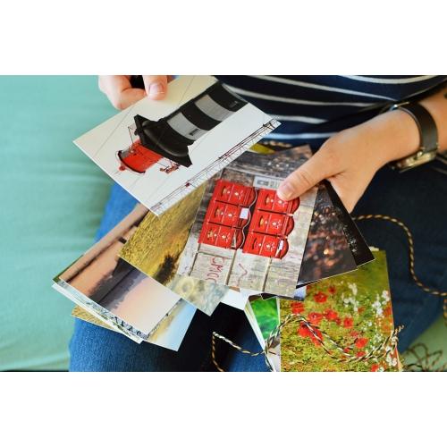 30 random PHOTO postcards