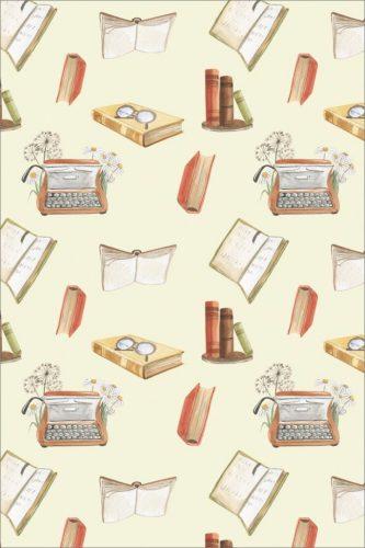 Postcard  Set of 15 Postcards: books