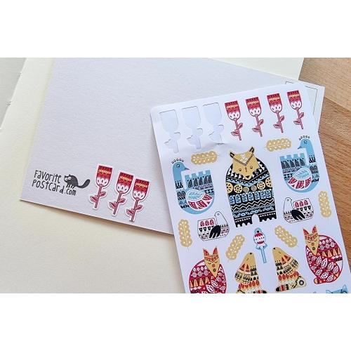 Sticker sheet #035: etno