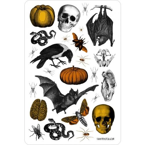 Sticker sheet #030: Halloween