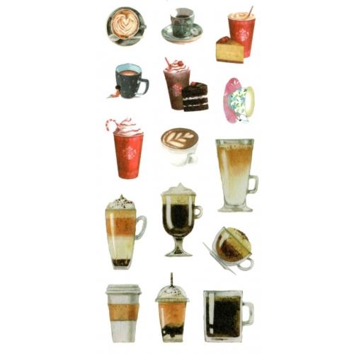 Sticker sheet #022: Coffee