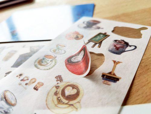 Sticker sheet #021: Coffee