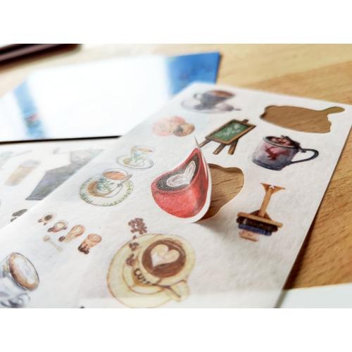 Sticker sheet #020: Coffee