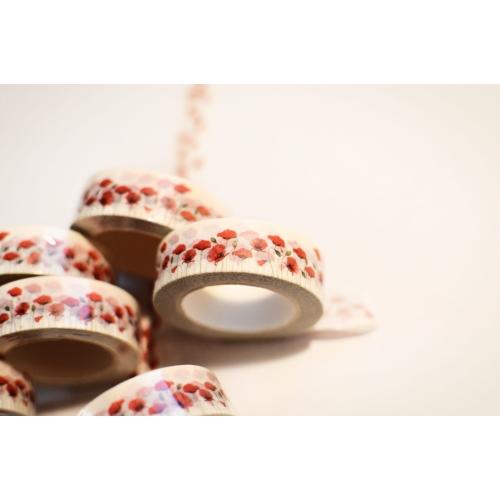 Washi tape #030: Poppies